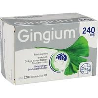 Hexal Gingium 240 mg Filmtabletten 120 St.