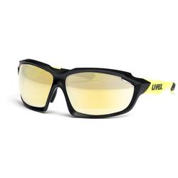 Uvex sportstyle 710 S530936 2616 7517 black mat yellow Sportbrille