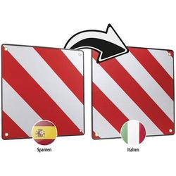LAS 10230 Warntafel 2in1 für Spanien und Italien Warntafel (L x B) 50cm x 50cm