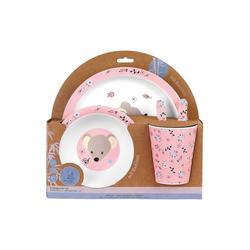 Sterntaler® Kindergeschirr-Set Bambus-Geschirr-Set Mabel Kindergeschirrsets