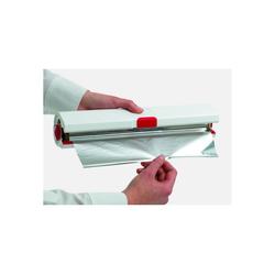 Emsa Folienspender Folien Beißer Smart Kitchen, Küchenabroller weiß