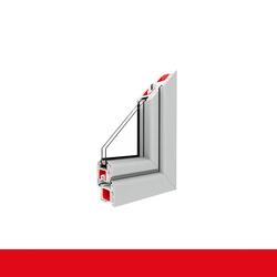 Kunststofffenster Dreh (ohne Kipp) Fenster Lichtgrau