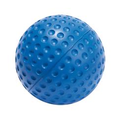 Schaumstoff-Softball, Blau, 7,5 cm, Schaumstoff