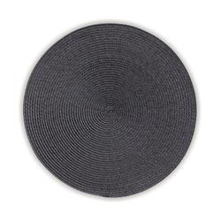 Tisch-Set Kimya PP-Kunststoff grau 0,2cm 38,0cmØ
