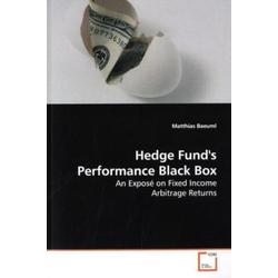 Hedge Fund's Performance Black Box als Buch von Matthias Baeuml