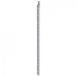 Günzburger Steigschutzschiene Aluminium 1,40m