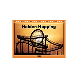 Halden-Hopping (Tischkalender 2021 DIN A5 quer)