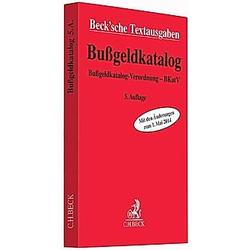 Bußgeldkatalog - Buch
