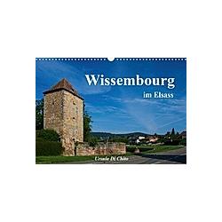 Wissembourg im Elsass (Wandkalender 2021 DIN A3 quer) - Kalender