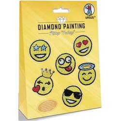 Diamond Painting Sticker 'Smileys'