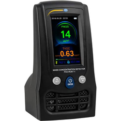 PCE Instruments Feinstaub-Messgerät PCE-RCM 11 Temperatur, Luftfeuchtigkeit