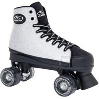 Hudora Roller Skates Silver Glamour grau/schwarz, 36