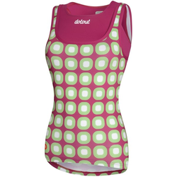 Dotout Dots - Fahrrad-Top- Damen Violet/Green L