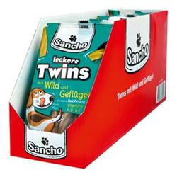 Sancho Hundefutter Kaurollen Twins 100 g, 18er Pack