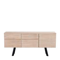Sideboard aus Eiche White Wash massiv 170 cm