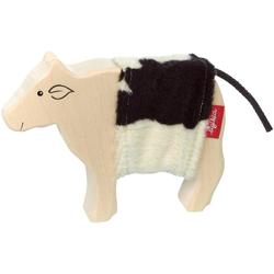 Sigikid Spielfigur Cudly Wudly Holztier Kuh, FSC®-Holz aus gewissenhaft bewirtschafteten Wäldern; Made in Europe