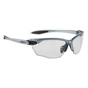 Alpina Twist Four Varioflex+ Sportbrille (Farbe: 125 tin/black, Scheibe: Varioflex black (S1-3))