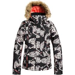 Roxy - Jet Ski Jacket True Black Impressions - Skijacken - Größe: XS