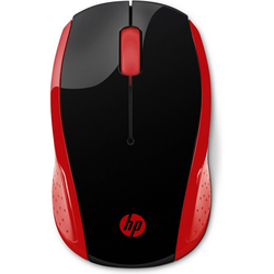 HP Wireless Mouse 200 kostengünstige Wireless-Maus rot