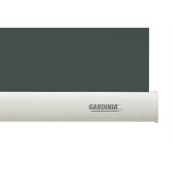 Seitenzugrollo Seitenzug-Rollo ABDUNKLUNG 96 grau 102 x, GARDINIA