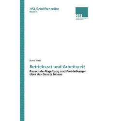 Betriebsrat und Arbeitszeit als Buch von Bernd Waas