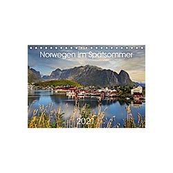 Norwegen im Spätsommer (Tischkalender 2021 DIN A5 quer)
