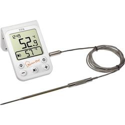 TFA Dostmann 14.1510.02 Grill-Thermometer Überwachung der Kerntemperatur, Kabelsensor Braten, Grill