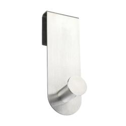 WENKO Celano Duschhaken, Duschaufhängung für Duschutensilien, Maße (B x H x T): 4 x 12,5 x 5 cm