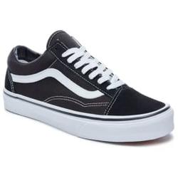 Vans - Old Skool Black/White - Sneakers - Größe: 8,5