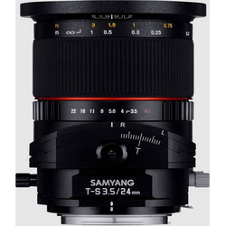 Samyang 21821 Tilt-Shift-Objektiv 24mm