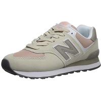 NEW BALANCE Women's 574 beige-pink/ white, 39