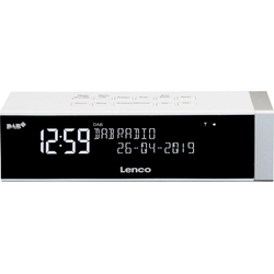 Lenco CR-630 Digitalradio (DAB) (FM-Tuner, Digitalradio (DAB), 4 W) weiß