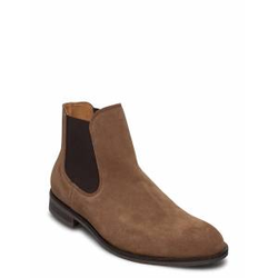 Selected Homme Slhlouis Suede Chelsea Boot B Noos Shoes Chelsea Boots Braun SELECTED HOMME Braun 45,43,40,44,41,46