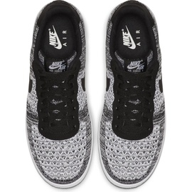 Nike Men's Air Force 1 Flyknit 2.0 black/black/white/pure platinum 40,5