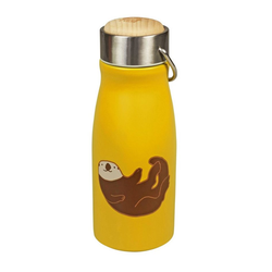 Capventure Trinkflasche The Zoo Edelstahl Kinder Isolierflasche Thermoskanne Thermosflasche 300ml Auswahl: Seeotter