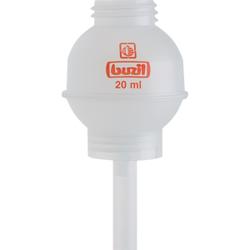 Buzil Dosierkugeln, transparent, für 1000 ml - Buzil-Flaschen, H 623 Dosierkugel 20 ml