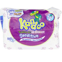 KANDOO toallitas húmedas sensitive 100 uds