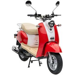 Nova Motors Motorroller Retro Star, 49 ccm, 45 km/h rot