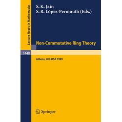 Non-Commutative Ring Theory als Buch von