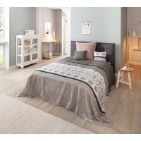 Home Affaire Home affaire, Tagesdecke Cremona, 140x210 cm (BxL), grau
