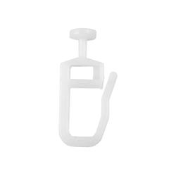 Gardinenschiene, Bestlivings, X-Gleiter, Vorhang-Gleiter für Vorhangschienen, Gardinenschienen
