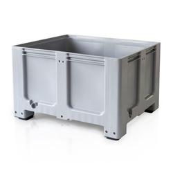 Palettencontainer - big box - 1200 x 1000 x 760, 4 füße