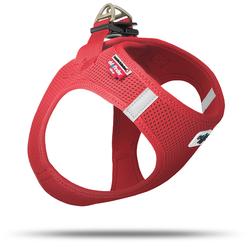 Curli Vest Geschirr Air-Mesh rot, Größe: XS