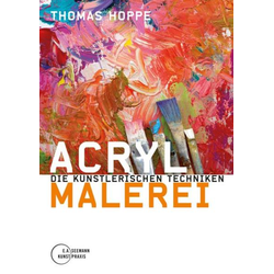 Acrylmalerei als Buch von Thomas Hoppe