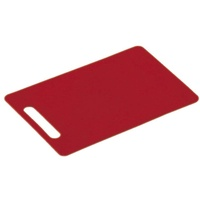KESPER 30463 Küchen-Schneidebrett Rechteckig Kunststoff Rot
