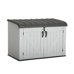 Lifetime Geräte- und Mülltonnenbox,lichtgrau,2,05 m²