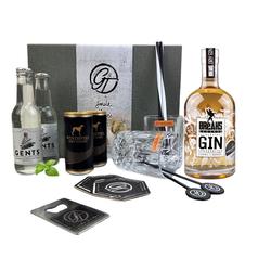 Breaks Reserve Dry Gin & Tonic Geschenkeset Kristall Square