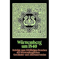 Württemberg um 1840 - Buch