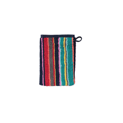 Cawö Waschhandschuh Opal Streifen in multicolor, 16 x 22 cm