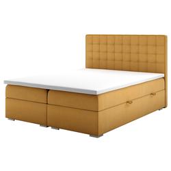 Łóżko kontynentalne z pojemnikiem Ketlin